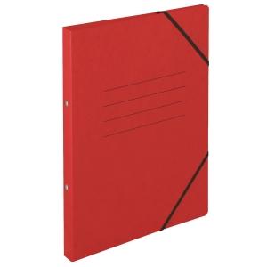 Ringbuch Biella Top Color 157402, A4, 2-Ring, mit Gummiband, 2,5 cm Rücken, rot