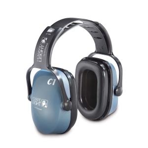 Kapselgehörschützer Honeywell Clarity C1, 25dB, mit Kopfbügel, graublau/schwarz