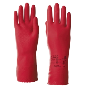 Chemikalienschutzhandschuhe KCL Camapren 722, Typ EN374-3 AKL, Gr.9, rot, 1 Paar
