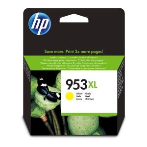 Tintenpatrone HP No.953XL F6U18AE, 1600 Seiten, yellow