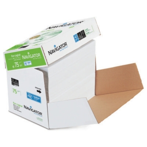 Copy paper, Navigator Eco-logical, A4 75 g/m2, FSC - cleverbox of 2500 sheets