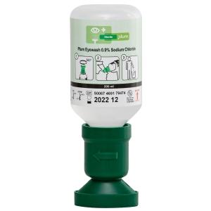 Augenspülflasche mit steriler Natriumchloridlösung, Plum 4691, Flasche à 200 ml