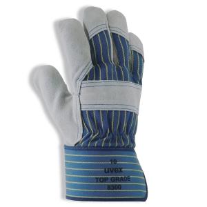 Rindslederschutzhandschuhe Uvex top grade 8300, Typ EN388 4122, Gr. 11, Paar