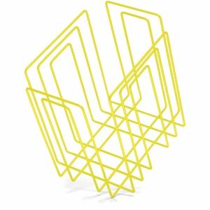 Zeitungssammler Compact, neon gelb