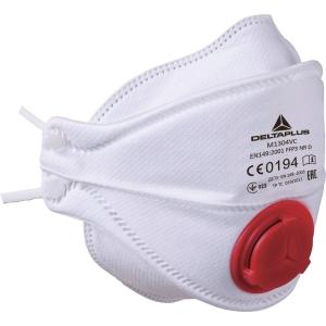 Atemschutzmaske M1304V Delta Plus, Schutzstufe FFP3, Packung à 10 Stück
