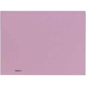 Einlagemappe Biella Recycolor 253427 A4, violett, Packung à 100 Stück