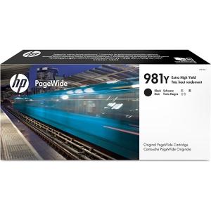 Tintenpatrone 981Y HP L0R16A, 20000 Seiten, schwarz