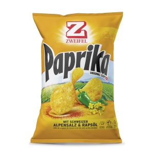 Zweifel Original Chips Paprika 175 g