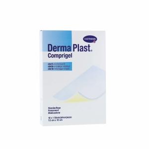 DermaPlast Comprigel beschichtete Wundauflage steril, 7,5x10 cm, Pk. à 10 Stk.