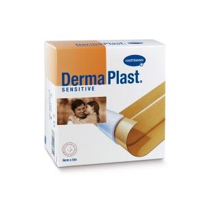 DermaPlast Sensitive Wundschnellverband, 6 cm x 5 m, hautfarbig
