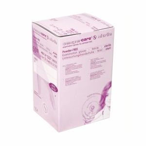 Einweghandschuhe Sempercare steril/Nitril, ungepudert, Gr.M,blau, Pk.à 50x2 Stk.