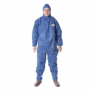 Schutzanzug 3M 4515, Typ 5/6, Grösse L, blau