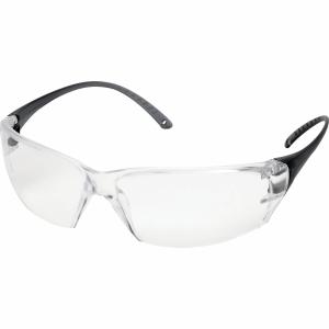 Schutzbrille Deltaplus Miloin, Filtertyp 2C, transparent/schwarz,Scheibe farblos