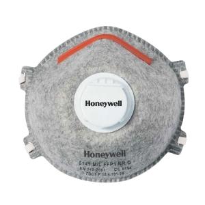 Atemschutzmaske Honeywell 5141, FFP1 + organische Gase, m. Ventil, Pk. à 20 Stk.