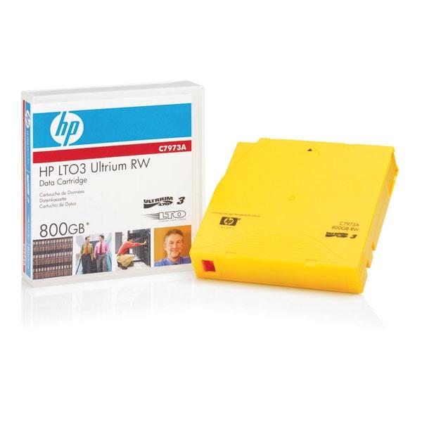 LTO Ultrium 3 Data Tape HP C7973A, 400/800GB