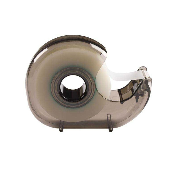 tape dispenser scotch h 127 19mm smoke clear