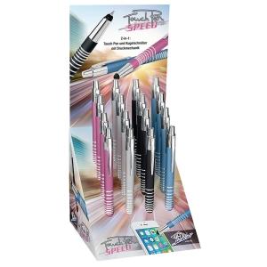 Wedo näyttöpäätekynä speed värilajitelma display, 1kpl=16 kynää