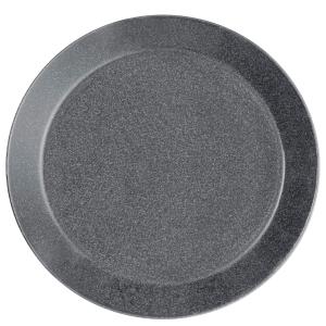 Iittala Teema lautanen matala 17cm duo harmaa, 1 kpl=6 lautasta