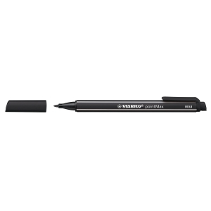 Stabilo 488 pointMax kuitukärkikynä 0,8mm, musta