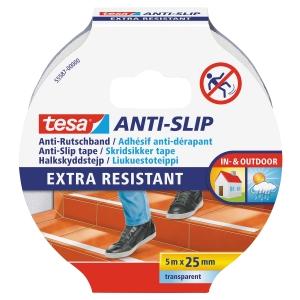 Tesa 55587 anti-slip teippi 25mmx5m kirkas