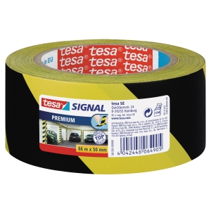 Tesa 58130 Signal Premium -teippi, kelta/musta