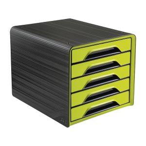 Cep Smoove laatikosto 5-osainen, musta/vihreä
