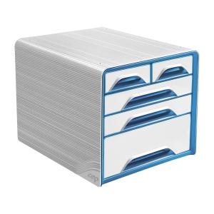 cep Smoove laatikosto 5-osainen, vaalea/sininen