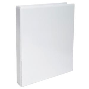 Perso 2-rengaskansio A4+ 30mm combimekanismi, valkoinen