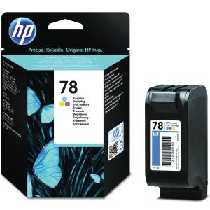 HP No. 78 C6578DE Mustesuihkupatruuna 3-väri