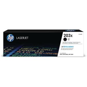 HP 203X CF540X -laservärikasetti, musta