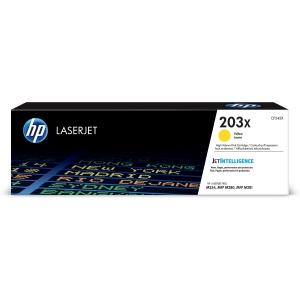 HP 203X CF542X -laservärikasetti, keltainen