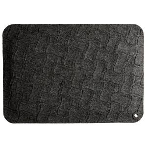 Lyreco ergonominen matto 550x780x16mm musta