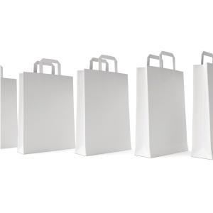 BX250 PAPER BAG 280X100X220MM 70G WHITE