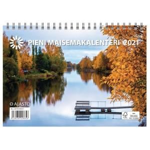 Ajasto Pieni maisemakalenteri seinäkalenteri 210 x 148 mm
