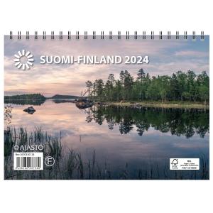 Ajasto Suomi seinäkalenteri A5