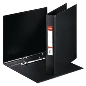 Esselte 2-rengaskansio A5 42mm, PP, musta
