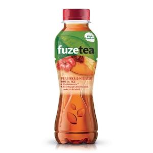 Fuze teejuoma persikka 0,4L, 1 kpl=12 pulloa