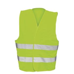 F&F -heijastinliivi, keltainen, one size