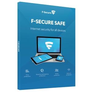 F-Secure SAFE: 1 vuosi, 5 laitetta -ohjelmisto