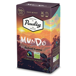 PAULIG MUNDO ORGA DARK GROUND COFFEE350G
