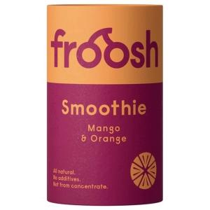 Froosh Shorty Mango & Appelsiini -smoothie 150ml, me 1 kpl = 24 purkkia