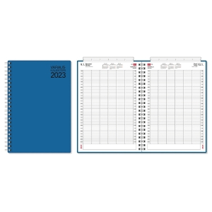 CC 2800 Varauskalenteri 2020 A4, sininen