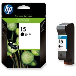 HP No. 15 C6615DE Mustesuihkupatruuna musta