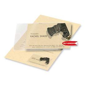 3L 10106 käyntikorttitasku 60x95mm, myyntierä 1 kpl = 10 taskua