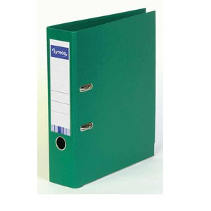 Lyreco mappi A4 80mm, PP, vihreä