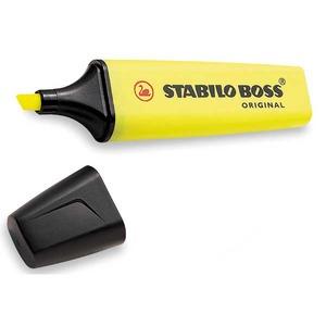 Stabilo Boss korostuskynä viisto  2-5mm, keltainen