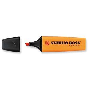 Stabilo Boss korostuskynä viisto 2-5mm, oranssi