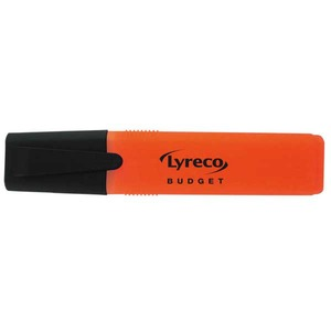 Lyreco Budget korostuskynä viisto 2-5 mm, oranssi
