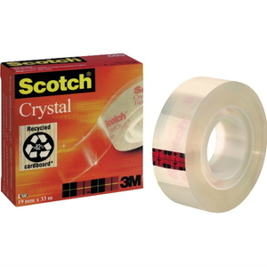 Scotch 600 yleisteippi 19mm x 33m kirkas