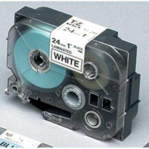 Brother TZe-241 teippi 18 mm musta/valkoinen